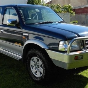02 Ford Courier Sports Truck Turbo Diesel