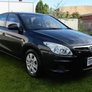 09 Hyundai i30 Hatch T/D Auto WITH NO DEPOSIT FINANCE