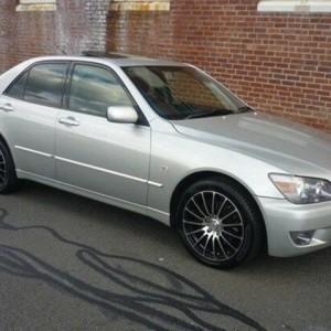 2005 Lexus IS200 GXE10R MY04.5 Sports Luxury Silver 4 Speed Automatic Sedan