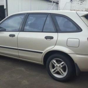 1999 Mazda 323 Astina Gold 5 Speed Manual Hatchback