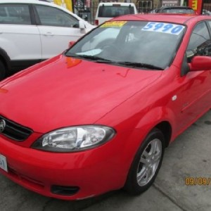 Holden Viva Equipe Hatchback. 2006 Automatic 4 cyl