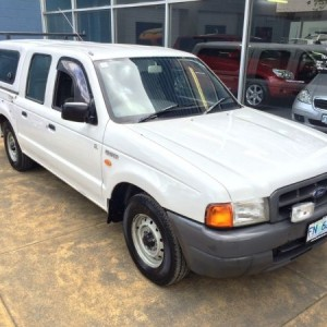 Ford Courier Crew Cab GL Utility. 2000 Automatic 4 cyl