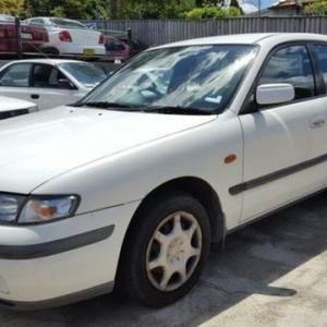 1997 Mazda 626 Classic White 5 Speed Manual Hatchback