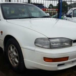 1996 Toyota Vienta VCV10 Grande White 4 Speed Automatic Sedan