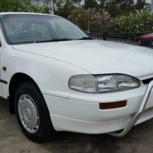 1995 Holden Apollo JM SLX White 5 Speed Manual Sedan