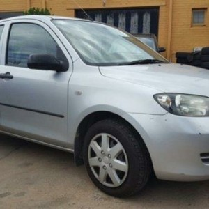 2002 Mazda 2 DY Neo Silver 5 Speed Manual Hatchback