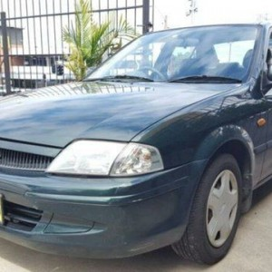 1999 Ford Laser KN GLXi Green 4 Speed Automatic Sedan