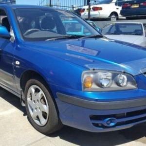 2005 Hyundai Elantra XD 05 Upgrade 2.0 HVT Blue 5 Speed Manual Hatchback