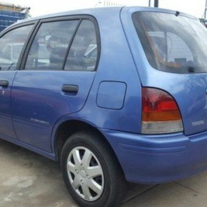 1996 Toyota Starlet EP91R Style Blue 5 Speed Manual Hatchback