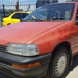 1991 Daihatsu Charade TS Red 5 Speed Manual Hatchback