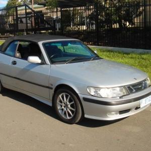 2001 Saab 9-3 covertible