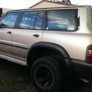 1998 Nissan RX 4×4 4door 7 seat Wagon 4×4