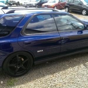 2000 Subaru Impreza WRX 4WD Hatchback (MY2000)