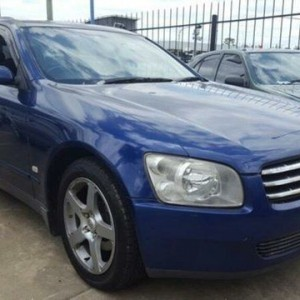 2001 Nissan Stagea Blue 4 Speed Automatic Wagon