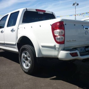 From $44 Per week on Finance* 2009 Great Wall V240 Twin cab Ute