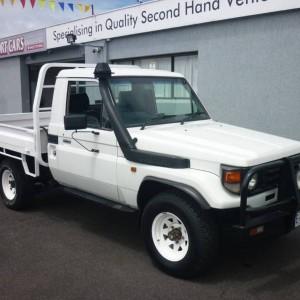 From $86 per week on Finance* 2004 Toyota LandCruiser Flat Tray