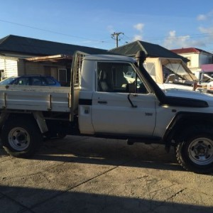 Toyota Landcruiser Workmate 4×4 Cab Chassis. 2008