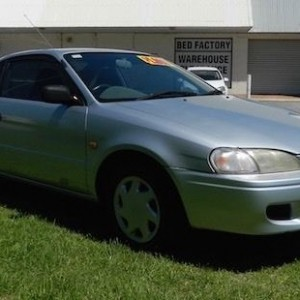 '97 Toyota Paseo Coupe under $2k!