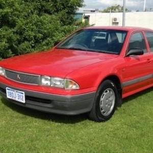'93 Mitsubishi Magna Sedan under $1.5k*