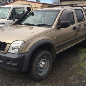 Holden Rodeo LX Crew Cab 4×4 Utility 2003