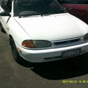Ford Festiva GLi Hatchback. 1995