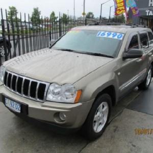 Jeep Grand Cherokee Limited 4×4 Wagon 2007