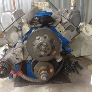 Ford 358 Svo nascar engine