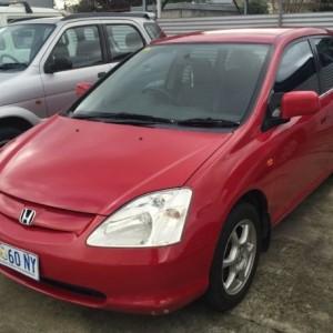 2001 Honda Civic Vi Hatchback