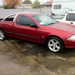Ford Falcon AU XL Super Cab 01