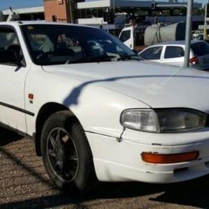 1996 Toyota Vienta VCV10 CSi White 4 Speed Automatic Sedan