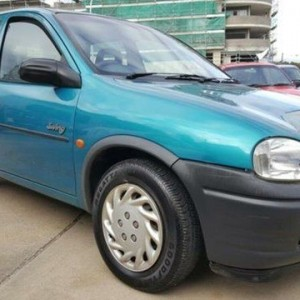 1995 Holden Barina SB Swing Green 4 Speed Automatic Hatchback