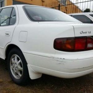 1997 Toyota Vienta VCV10 Grande White 4 Speed Automatic Sedan