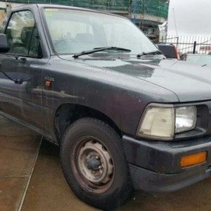 1994 Toyota Hilux RN85R Silver 5 Speed Manual Cab Chassis