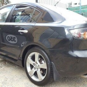 2005 Mazda 3 BK Neo Black 4 Speed Auto Activematic Hatchback
