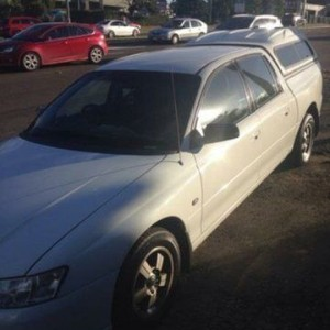 2006 Holden Crewman VZ MY06 White 4 Speed Automatic Crew Cab Utility