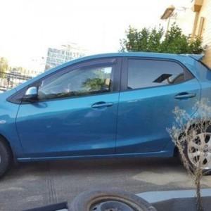 2013 Mazda 2 DE MY13 Neo Blue 4 Speed Automatic Hatchback