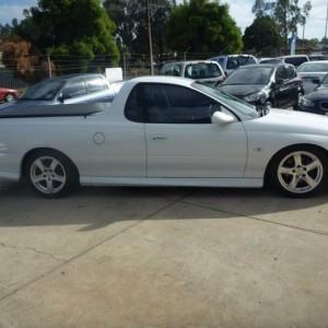 2001 Holden Commodore Utility