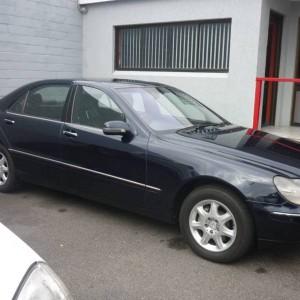 2002 Mercedes-Benz S500L Sedan