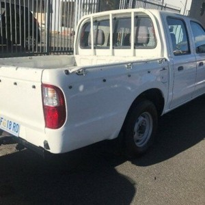 2006 Ford Courier PH (Upgrade) GL Crew Cab White 5 Speed Manual Utility