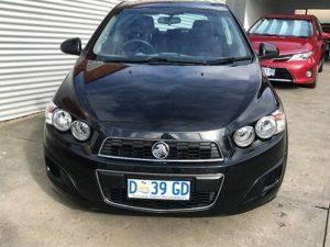 2013 Holden Barina TM MY13 CD Black 6 Speed Automatic Hatchback