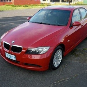 2007 BMW 320i E90 MY08 Executive Steptronic Red 6 Speed Sports Automatic Sedan