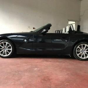 2008 BMW Z4 E85 MY07 Steptronic Black 6 Speed Sports Automatic Roadster