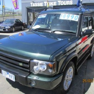 Land Rover Discovery HSE 2003