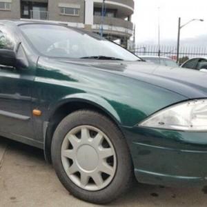 2000 Ford Falcon Auii Forte Green 4 Speed Automatic Sedan