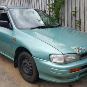 1996 Subaru Impreza GX Green 4 Speed Automatic Hatchback