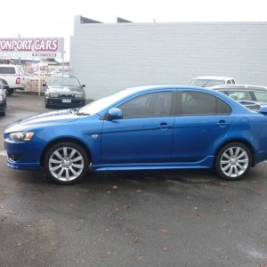 From only $45 p/week on finance* 2007 Mitsubishi Lancer VR-X
