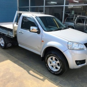 Great Wall V240 4×4 Cab Chassis. 2012 Manual 4 cyl
