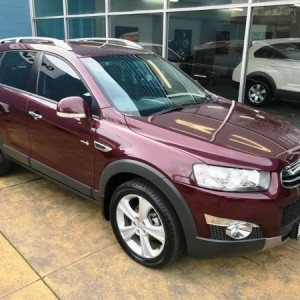 Holden Captiva LX 4×4 Wagon. 2011 Automatic 4 cyl Diesel Turbo