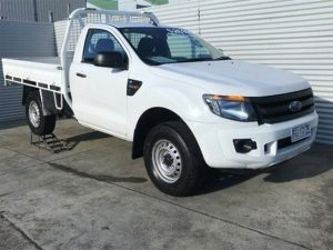 2012 Ford Ranger PX XL White 6 Speed Sports Automatic Cab Chassis $25,990.00