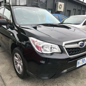 2013 Subaru Forester S4 MY14 2.5i Lineartronic AWD Black 6 Speed Constant Variable Wagon